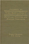 Handbook of Tribology: Materials, Coatings and Surface Treatments