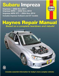 Subaru Impreza & WRX Automotive Repair Manual