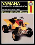Yamaha Banshee, Warrior & Raptor 350 ATVs