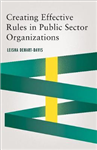 Creating Effective Rules in Public Sector Organizations