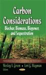 Carbon Considerations: Biochar, Biomass, Biopower & Sequestration
