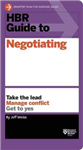 HBR Guide to Negotiating HBR Guide Series