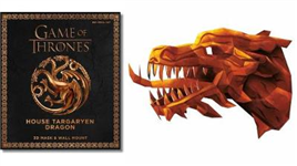 Game of Thrones Mask: House Targaryen Dragon