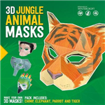 3D Jungle Animal Masks