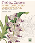 Kew Gardnens World of Flowers Colouring Book