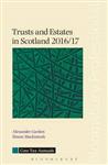 Trusts and Estates in Scotland 2016/17: 2016/17