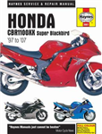 Honda CBR1100XX Super Blackbird Motorcycle Repair Manual