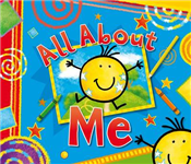 All About Me: Record Book and Photo Album with Integral Keepsake Box