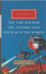 Time Machine, The Invisible Man, The War of the Worlds