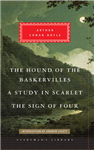 Hound of the Baskervilles, A Study in Scarlet, The Sign of F
