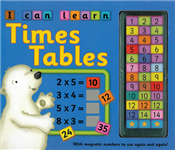 I Can Learn Times Tables: with Magnetic Numbers to Use Again and Again!