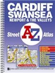 Cardiff, Swansea and The Valleys Street Atlas
