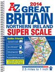 Great Britain Super Scale Road Atlas: 2014
