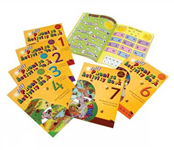 Jolly Phonics Activity Books 1-7: in Precursive Letters (British English edition)