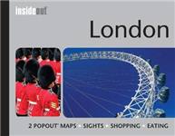 InsideOut: London Travel Guide: Pocket size London Travel Guide with two pop-up maps