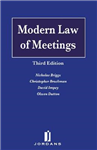 Modern Law of Meetings