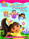 Dora\'s Princess Party Sticker Book