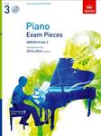 Piano Exam Pieces 2015 & 2016, Grade 3, with CD
