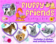 My Fluffy Friends Activity Carry Case: Includes 4 Sticker and Activity Books