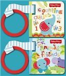 Fisher Price Buggy Book Box: First Animals, Counting Cuties