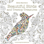 Millie Marotta\'s Beautiful Birds and Treetop Treasures: A colouring book adventure