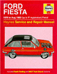 Ford Fiesta 1976-83 Service and Repair Manual