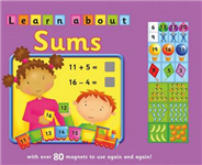 Learn about sums: With Over 80 Magnets to Use Again and Again!