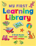My first learning library: 3 Great Books: ABC * First 123 * First Words