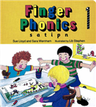 Finger Phonics Book 1: s, a, t, i, p, n
