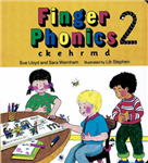 Finger Phonics Book 2: ck, e, h, r, m, d