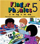 Finger Phonics Book 5: z, w, ng, v, oo, oo