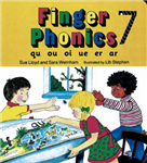 Finger Phonics Book 7: qu, ou, oi, ue, er, ar
