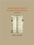 Student Solutions Manual to Accompany General Chemistry