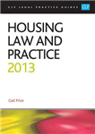 Housing Law and Practice: 2013