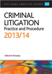 Criminal Litigation: Practice and Procedure: 2013/2014