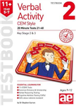 11+ Verbal Activity Year 5-7 Cem Style Testbook 2