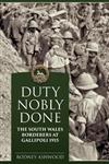 Duty Nobly Done