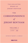Correspondence of Jeremy Bentham, Volume 2