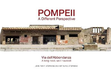 Pompeii: a Different Perspective: Via dell\'Abbondanza - a long road, well traveled