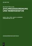 Zpo, 1. Buch: Allgemeine Vorschriften,    1-107