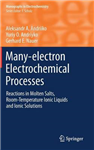 Many-electron Electrochemical Processes: Reactions in Molten Salts, Room-Temperature Ionic Liquids and Ionic Solutions