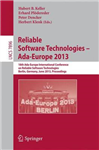 Reliable Software Technologies -- Ada-Europe 2013