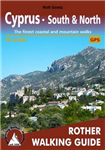 Cyprus - South & North walking guide 50 walks