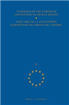 Yearbook of the European Convention on Human Rights/Annuaire