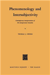 Phenomenology and Intersubjectivity: Contemporary Interpretations of the Interpersonal Situation
