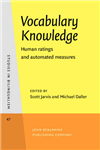 Vocabulary Knowledge: Human ratings and automated measures