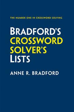 Collins Bradford\'s Crossword Solver\'s Lists