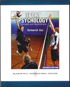 Sport Psychology: Concepts and Applications Int'l Ed