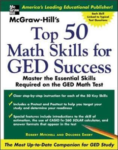 Mcgraw-Hill\'s Top 50 Math Skills for Ged Success