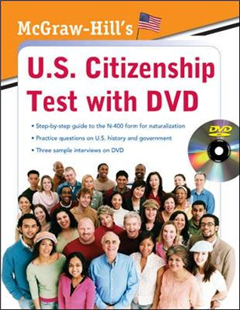McGraw-Hill\'s U.S. Citizenship Test with DVD